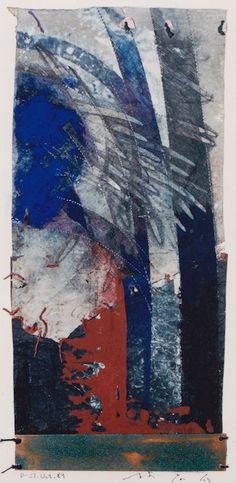 collage/copper and paper making 林孝彦 HAYASHI Takahiko 1989