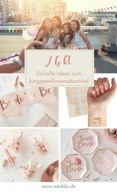 Für den perfekten JGA ❤ Diese Accessoires dürfen nicht fehlen! #jga #jungesellenabschied #hochzeit #hochzeitsdeko #ideen