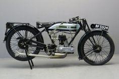 Triumph 1927 Model N 500cc 1 cyl sv