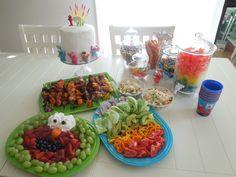 Sesame Street Elmo Rainbow party