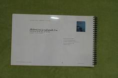 Modernismi ja nykytaide, 3 op, (4/4). Taitettu kierresidonta. Elina Rantapuska. Arvosana: 5. Muotoiluinstituutti, 2002–2006, viestinnän koulutusohjelma, graafinen suunnittelu. © Natasha Varis, 2004.