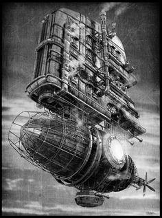 Steam-airship