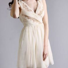 Minuet Sugar Coated Grecian Dress in Dresses at Frock Candy on Wanelo