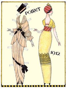 Paul Poiret was a leading French fashion designer during the first two decades of the 20th century. His contributions to his field have been likened to Picasso's legacy in 20th-century art. 1 of 2