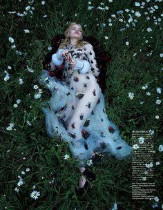 """""""True Innocence"""" Stella Lucia for Vogue Japan November 2015"""