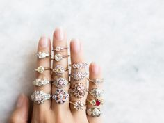 Why settle for a cookie cutter engagement ring when the possibilities are endless with these one of a kind engagement rings!