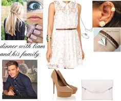 """""""dinner with liam's family"""" by shannon-isabel ❤ liked on Polyvore"""