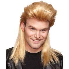 Buy Morris Costumes Nightclub Mullet Blonde Costume at UnbeatableSale Boys Long Hairstyles Kids, Teen Boy Hairstyles, Boy Haircuts Long, Ugly Hairstyles, 1960s Hairstyles, Male Haircuts, Scene Hairstyles, Pixie Hairstyles, Mullet Wig