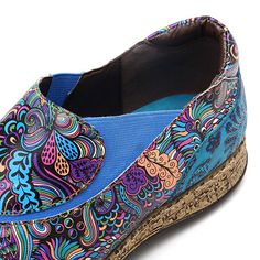 Hot-sale Socofy SOCOFY Folkways Pattern Splicing Elastic Band Soft Stitching Sli… Hot-Verkauf Socofy SOCOFY Folkways Muster Spleißen Gummiband Soft Stitching Slip On Flache Schuhe – NewChic Mobile Diet Plans For Women, Diets For Women, Comfortable Flats, Band, Types Of Shoes, Womens Flats, Leather, Flat Shoes, La Mode