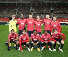 Manchester United Players, Old Trafford, Team Photos, Man United, Uefa Champions League, Lineup, Premier League, The Unit, Football