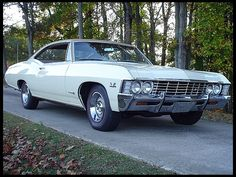 1967 Chevy Impala SS ...a big beast that could go... got  me away from some people chasing me once back in the day