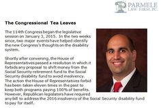 http://parmelelawfirm.com/the-congressional-tea-leaves - The 114th Congress began the legislative session on January 3, 2015. The language of this Congress so far suggests that it might make the process more burdensome and difficult to navigate than it already is.