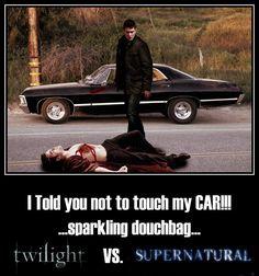 Twilight vs. Supernatural by ~PhoenixKagami on deviantART