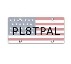 Get ready your vehicle for athletics with USA custom license plate from pl8tpal. They show the support toward the athletic team.