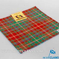 MacDougall Tartan Handkerchief
