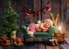 Santas Slumber by tamnelson - Beautiful Babies Photo Contest