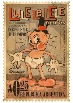 Lule Le Lele Comics. República Argentina.