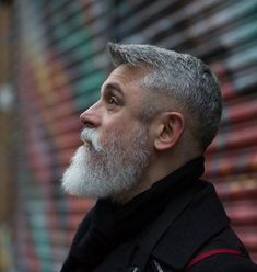 42 hairstyles for men with silver and gray hair - men hairstyles world - . - 42 hairstyles for men with silver and gray hair – men hairstyles world – - Silver Hair Men, Short Silver Hair, Grey Hair Men, Short Grey Hair, Gray Hair, Long Hair, Beard Styles For Men, Hair And Beard Styles, Short Hair Styles