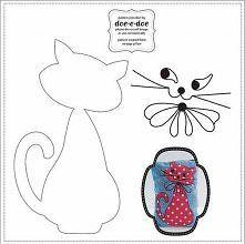 kot szablon do wycięcia - Szukaj w Google