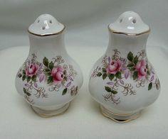 Lavender Rose Salt & Pepper - Royal Albert
