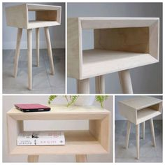 Scandinavian style bedside table available from SVB furniture on Etsy. Bedside Tables, Nightstand, Scandinavian Style, Etsy, Furniture, Home Decor, Nightstands And Bedside Tables, Decoration Home, Room Decor