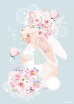 Limited Edition  papillons lapin par schmooks sur Etsy