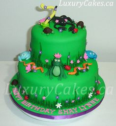 Reptile animal cake  Cake by Sobi