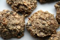 Oatmeal Peanut Butter Cookies: Rich and sweet.