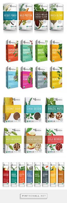 Essential Living Foods — The Dieline - Branding & Packaging - created via http://pinthemall.net
