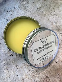 Gentleman's Beard Balm - Gifts for Him, Father's Day, Birthday Gift, Shower Gift, Skin Care, Organic, Essential Oils by LovingLifeEssentials on Etsy
