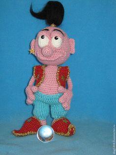 Мк повязанию игрушки Джинн - игрушка ручной работы,авторская игрушка,вязаная игрушка