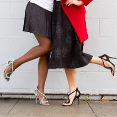 Cute shoes! Shopping day in the matching Kennia sandals. #ShoeDazzle