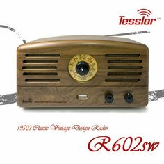 Tesslor Radio/테슬라 라디오 R601SW 복고풍 클래식 빈티지 진공관라디오 -AV오디오 음향기기 전문상담-