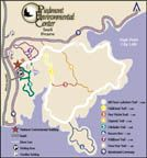 Piedmont Environmental Center (PEC) maintains 376 acres of protected land with miles of hiking trails.
