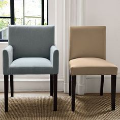 West Elm offers modern furniture and home decor featuring inspiring designs and colors. Create a stylish space with home accessories from West Elm. Home Interior Design, Interior Design, Upholstered Dining Chairs, Dining Room Chairs, Home, Upholstered Arm Chair, Dining Room Arm Chairs, Home Decor, Dinning Chairs