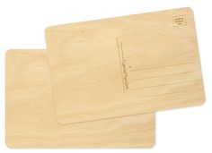 Night Owl Paper Goods Print Your Design on Wood (Postcard) 6 x 4   Birch