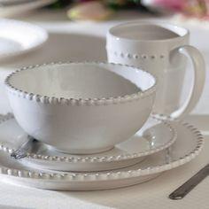 16-Piece Bianca Dinnerware Set//