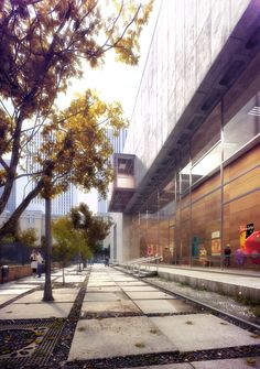 CGarchitect - Professional 3D Architectural Visualization User Community | School Gyn lobby and exterior