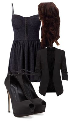 """Katherine Pierce Inspired Party Outfit"" by mytvdstyle ❤ liked on Polyvore featuring Madam Rage, Giuseppe Zanotti, Inspired, tvd and thevampirediaries"