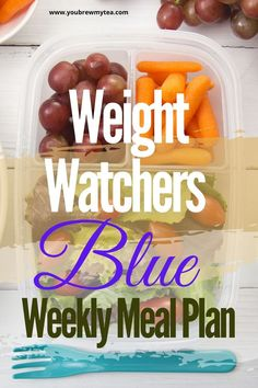 This weight watchers  Blue weekly meal plan is a perfect way to get started and on track. WW meal plans you can make for breakfast, lunch or dinner. Snacks and desserts also included! Check out the latest updates in this pin! #wwblueplan #weightwatchers #ww