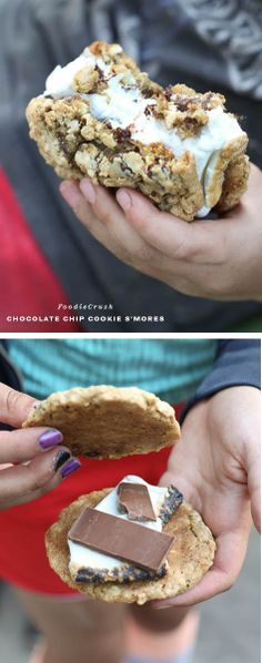 Chocolate Chip Cookie S'mores.