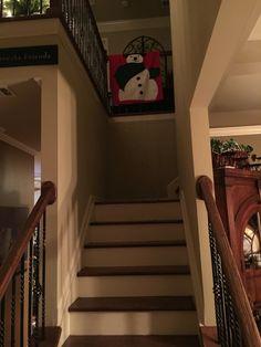 Snowman drape