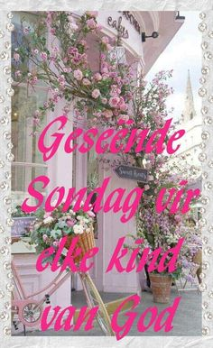 Lekker Dag, Goeie More, Afrikaans Quotes, Sunday Quotes, Christmas Wreaths, Holiday Decor, Van, Home Decor, Decoration Home