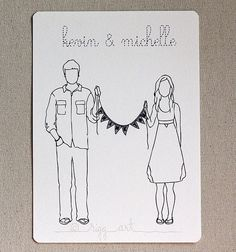 Such a cute idea...may have to do this even though we've been married for 11 years!