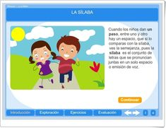 LA SÍLABA (Actividad interactiva de Lengua Española de Primaria) Family Guy, Fictional Characters, Interactive Activities, Spanish Language, Teaching Resources, Languages, Learning, Fantasy Characters, Griffins