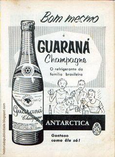 Anúncio antigo do Guaraná Antarctica