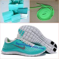 huge discount 449bd 38afd Mens Nike Free 3.0 V4 New Green Reflect Silver Pure Platinum Shoes  Mens   Nike