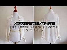 Cocoon Cardigan – Free Sewing Pattern & Tutorial Video | Sew in Love
