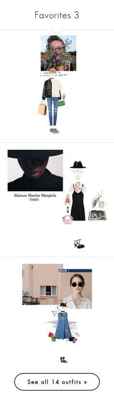 """""""Favorites 3"""" by emmastrouse ❤ liked on Polyvore featuring NARS Cosmetics, Monki, Needle & Thread, Proenza Schouler, adidas Originals, Frame, Yves Saint Laurent, Ray-Ban, Morgan Lane and MM6 Maison Margiela"""