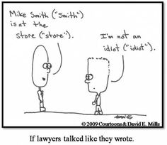 More Lawyer Humour Accident lawyers